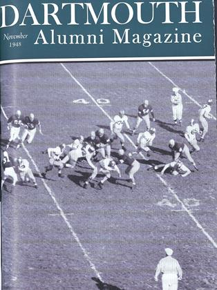 Cover for the November 1948 issue