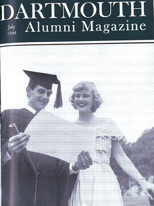 Cover for the July 1949 issue