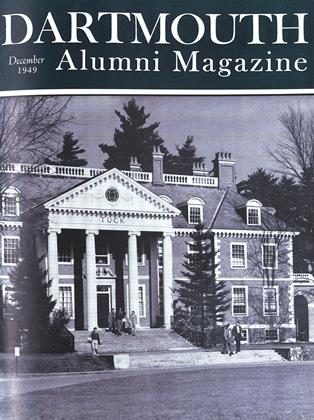 Cover for the December 1949 issue