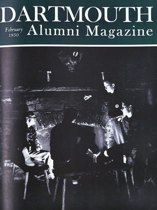 Cover for the February 1950 issue
