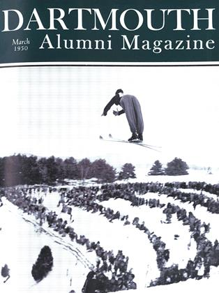 Cover for the March 1950 issue