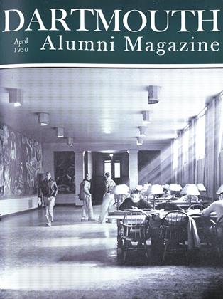 Cover for the April 1950 issue
