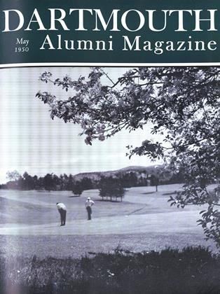 Cover for the May 1950 issue