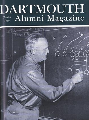 Cover for the October 1950 issue