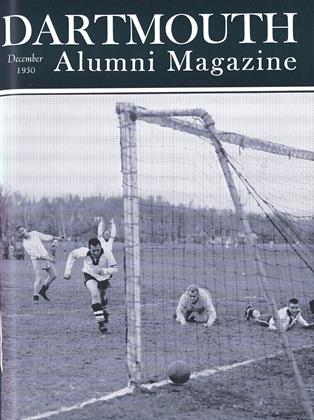 Cover for the December 1950 issue