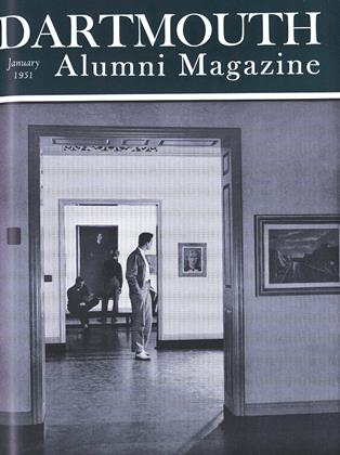 Cover for the January 1951 issue