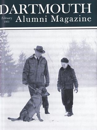 Cover for the February 1951 issue