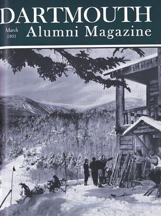 Cover for the March 1951 issue
