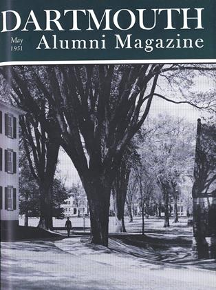 Cover for the May 1951 issue