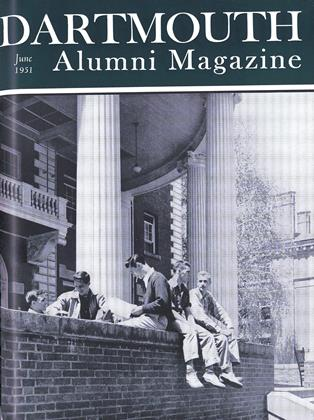 Cover for the June 1951 issue