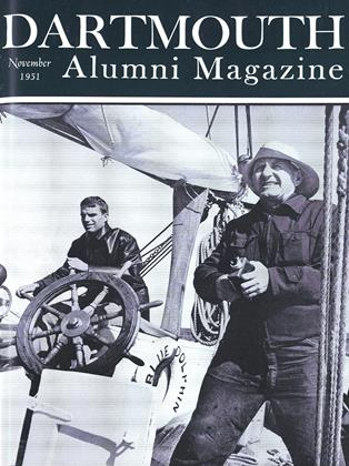 Cover for the November 1951 issue