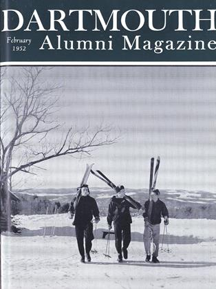 Cover for the February 1952 issue