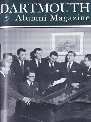 Cover for the May 1952 issue