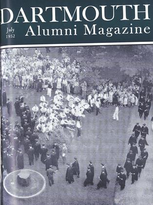 Cover for the July 1952 issue