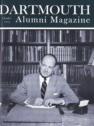 Cover for the October 1952 issue