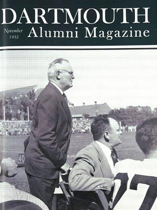 Cover for the November 1952 issue