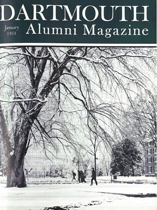 Cover for the January 1953 issue