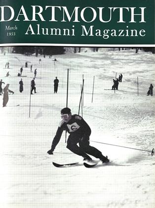 Cover for the March 1953 issue