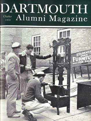 Cover for the October 1953 issue