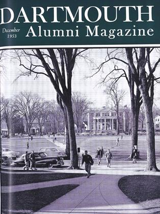 Cover for the December 1953 issue