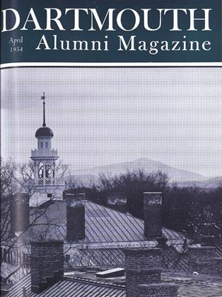 Cover for the April 1954 issue