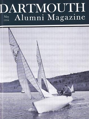 Cover for the May 1954 issue