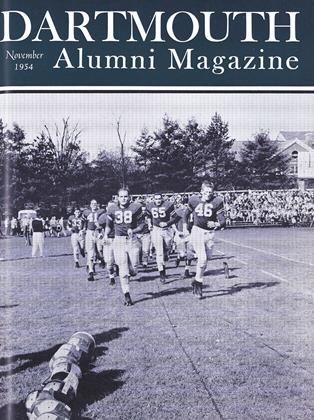 Cover for the November 1954 issue