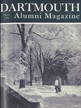 Cover for the March 1955 issue