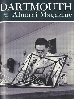 Cover for the April 1955 issue