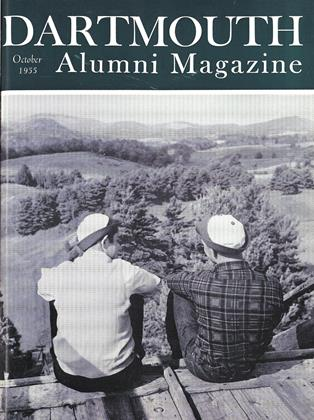 Cover for the October 1955 issue