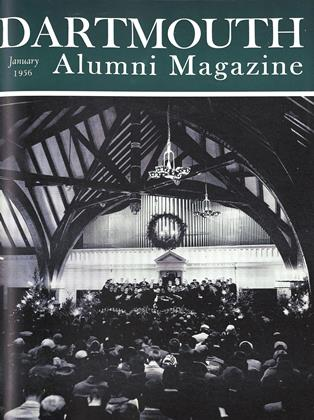 Cover for the January 1956 issue
