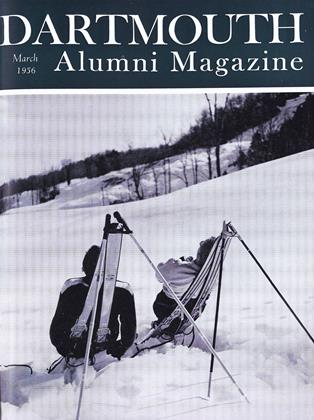 Cover for the March 1956 issue