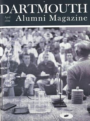 Cover for the April 1956 issue