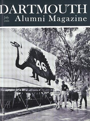 Cover for the July 1956 issue