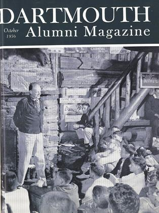Cover for the October 1956 issue