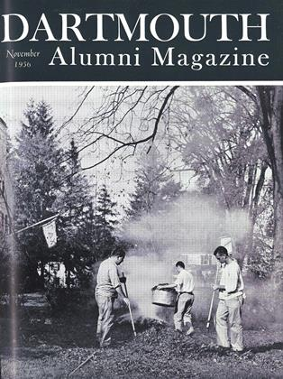 Cover for the November 1956 issue
