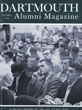 Cover for the December 1956 issue