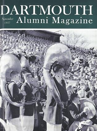 Cover for the November 1957 issue