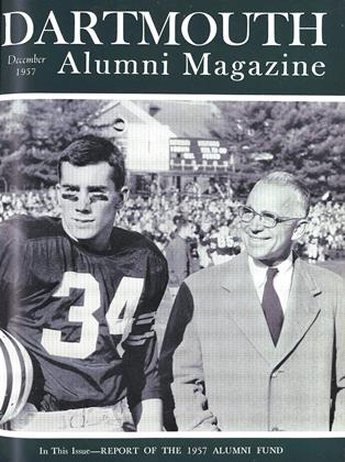 Cover for the December 1957 issue