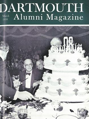 Cover for the March 1958 issue