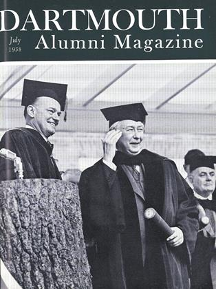 Cover for the July 1958 issue
