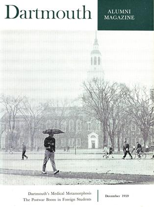Cover for the December 1959 issue