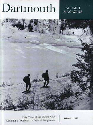 Cover for the February 1960 issue