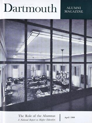 Cover for the April 1960 issue