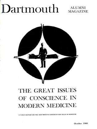 Cover for the October 1960 issue