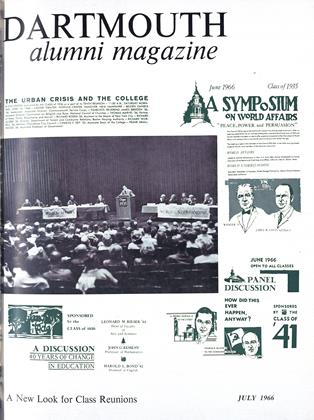 Cover for the July 1966 issue