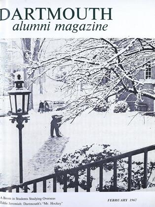 Cover for the February 1967 issue