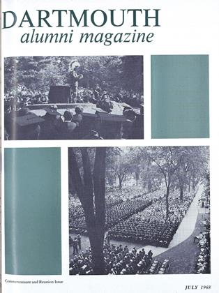 Cover for the July 1968 issue
