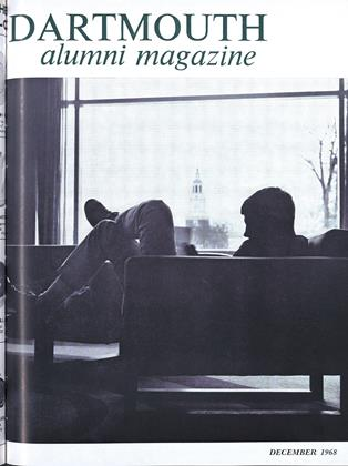 Cover for the December 1968 issue
