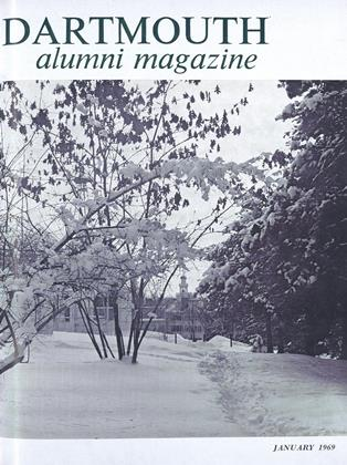 Cover for the January 1969 issue